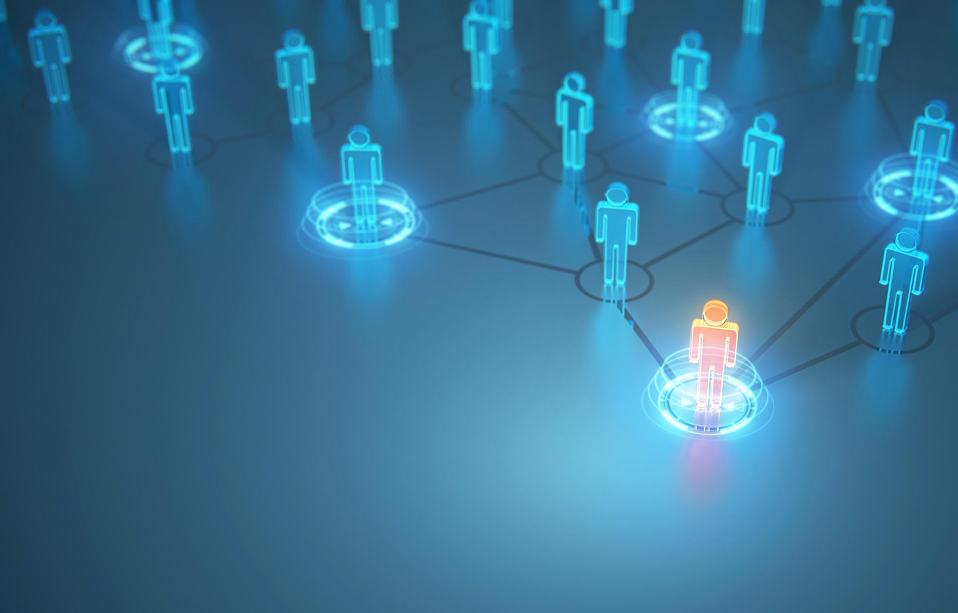 Digitale Führung und Begegnung